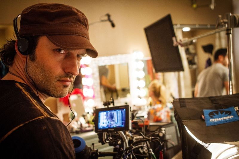 Machete Kills: Rober Rodriguez, regista del film, in una foto promozionale
