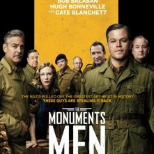 Monuments Men: nuovo poster