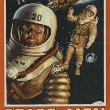 Space Men: la locandina del film