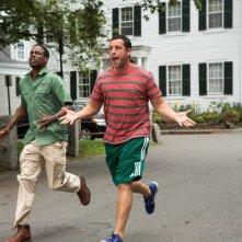 Un weekend da bamboccioni 2: Adam Sandler e Chris Rock in una scena del film
