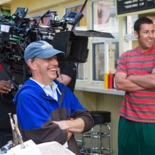 Un weekend da bamboccioni 2: Adam Sandler sul set con il regista Dennis Dugan