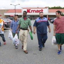 Un weekend da bamboccioni 2: Kevin James, Adam Sandler, Nick Swardson, David Spade e Chris Rock in una scena
