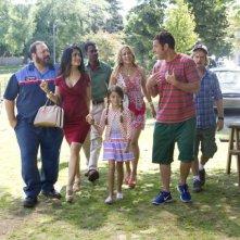 Un weekend da bamboccioni 2: una scena di gruppo tratta dalla commedia
