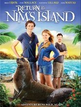 Ritorno all'isola di Nim: la locandina del film