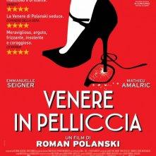 Venere in pelliccia: la locandina italiana