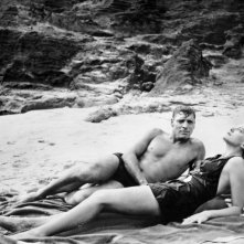 Burt Lancaster e Deborah Kerr in Da qui all'eternità