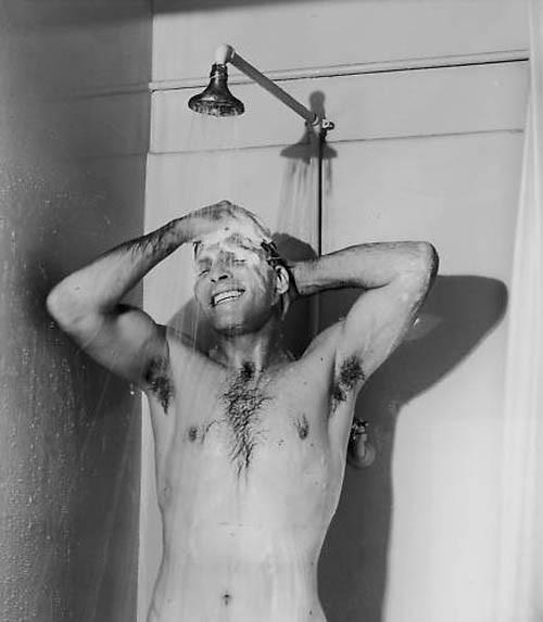 Burt Lancaster Sotto La Doccia 290250