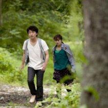 Seventh Code: Atsuko Maeda insieme a Ryôhei Suzuki in una scena