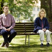 Sorrow and Joy: Jakob Cedergren in una scena con Helle Fagralid