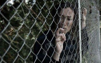 Border: Dana Keilani in una struggente scena del film