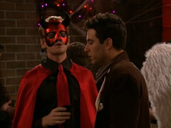How I Met Your Mother: Josh Radnor e Neil Patrick Harris nell'episodio La zucca supersexy