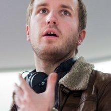 Il paradiso degli orchi: il regista del film Nicolas Bary in una foto dal set
