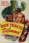 Dick Tracy's Dilemma: la locandina del film