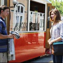 Fuga di cervelli: Luca Peracino con Olga Kent in una scena