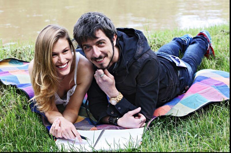 Fuga Di Cervelli Paolo Ruffini Sul Set Del Film Con Olga Kent 290663