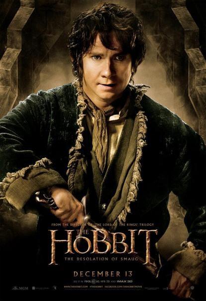 The Hobbit La Desolazione Di Smaug Il Character Poster Di Martin Freeman 290637