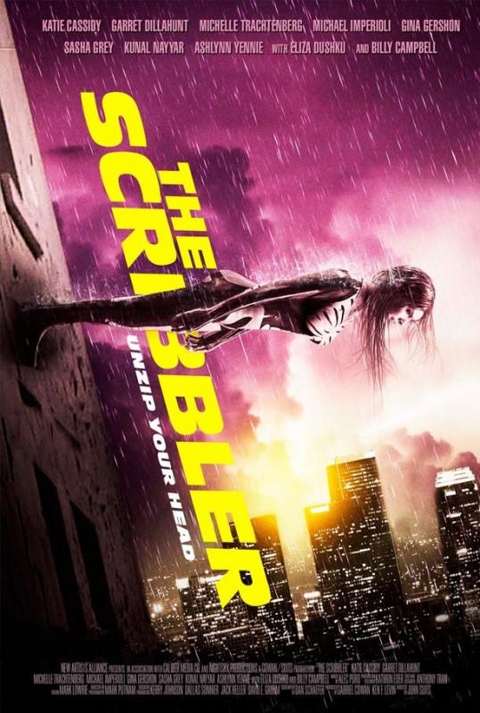 The Scribbler La Locandina Del Film 290625