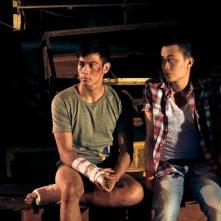Vinh Khoa Ho e Manh Hai Luong in una scena di Lost in Paradise
