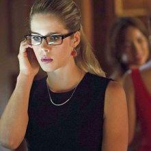 Arrow: Emily Bett Rickards in una scena dell'episodio della stagione 2, Crucible