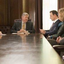 The Good Wife: Julianna Margulies, Josh Charles e Christine Baranski in una scena dell'episodio The Next Day