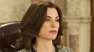 The Good Wife: Julianna Margulies in una scena dell'episodio The Next Day