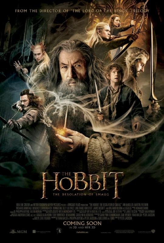 The Hobbit La Desolazione Di Smaug Il Final Poster Usa 290744