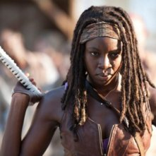 The Walking Dead: Danai Gurira è Michonne nell'episodio Indifferenza