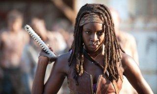 The Walking Dead: Danai Gurira è Michonne nell'episodio Indifferenza