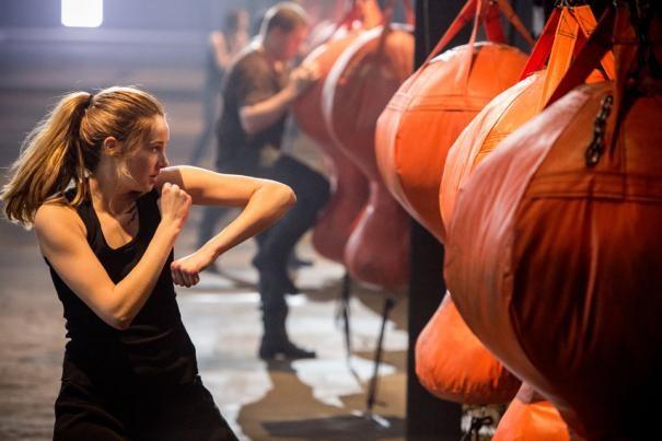 Divergent: Shailene Woodley si allena alla lotta