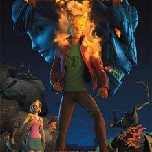 Firebreather: I due mondi: la locandina del film
