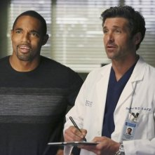 Grey's Anatomy: Patrick Dempsey e Jason George nell'episodio Thriller
