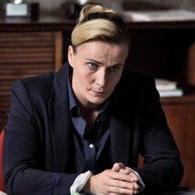 I delitti del BarLume: Lucia Mascino in un'immagine della serie Sky