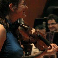 Il carattere italiano: una scena del documentario sulla storia dell'Orchestra di Santa Cecilia