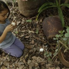 Manto Acuifero: la piccola Zaili Sofia Macias in un'immagine del film