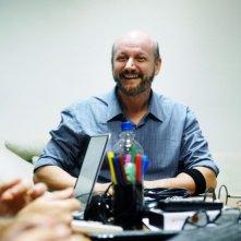 Metegol: il regista Juan José Campanella sul set del film