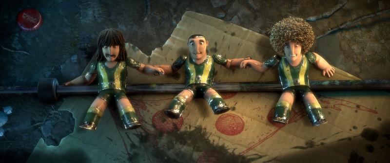 Metegol: una scena del film d'animazione