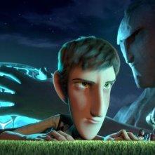 Metegol: una scena tratta dal film d'animazione