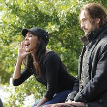 Sleepy Hollow: Nicole Beharie e Tom Mison nel sesto episodio della prima stagione The Sin Eater
