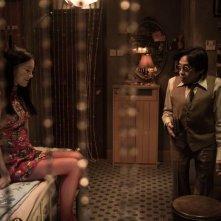 Tales From The Dark: il regista Teddy Robin sul set con Fala Chen
