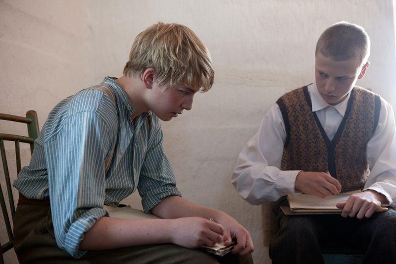 The Disciple Erik Lonngren In Una Scena Del Film Con Patrik Kumpulainen 291176