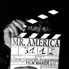 Una immagine dal set del film Mr. America.