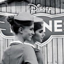 Festival di Roma 2013 - due hostess di Planes, il film d'animazione della Disney, sul red carpet