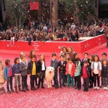 Belle & Sebastien: un red carpet 'innevato' al Festival di Roma 2013