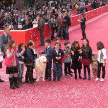 Belle & Sebastien: un tappeto rosso imbiancato per il film al Festival di Roma 2013