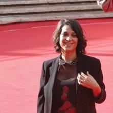 Roma 2013: Donatella Finocchiaro sul red carpet per il film Marina