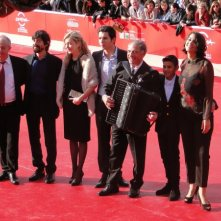 Roma 2013: Il cast di Marina sul tappeto rosso del festival