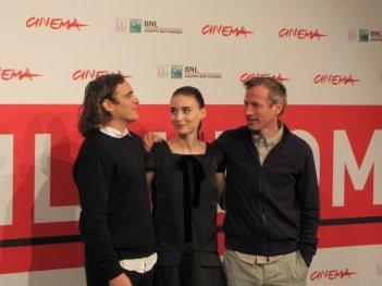 Festival di Roma 2013 - Joaquin Phoenix, Rooney Mara e Spike Jonze presentano 'Her'