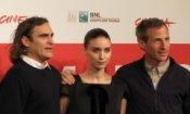 Her: Joaquin Phoenix, Rooney Mara e Spike Jonze a Roma