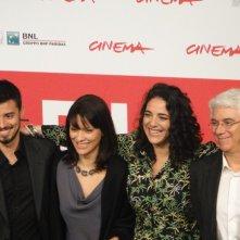 Sheep's Clothing: Martha Nowill con i registi e la produttrice Diane Maia a Roma 2013