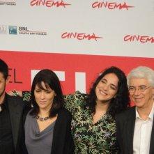 Sheep's Clothing: Martha Nowill con i registi Morelli e la produttrice Diane Maia a Roma 2013